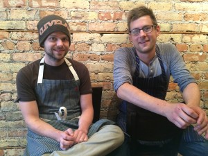 Executive Chef Victor Morenz, left, and Sous Chef Corey Bowers