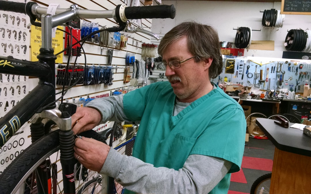 'Doctor' Fixes Bodies With Bikes
