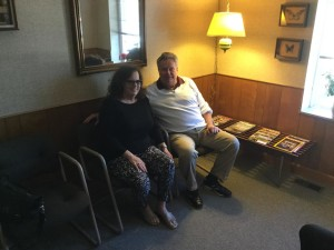 "Judith and Duane Cox - Judith Cox has been going to the practice since she was six years old. She and her husband Duane came from Las Vegas on their way to their home in Houghton Lake to see Dr. Meldrum, who she says is ""the very best dentist in the entire world."