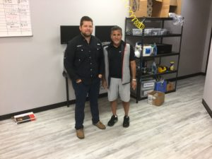Drew Lessaris (l) and Ron Harb (r) of uBreakiFix in Troy, Michigan