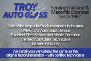 Troy Auto Glass Advertisement