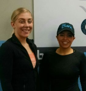 Head Trainer Kelly Matyniak and Owner Bianca Bahri