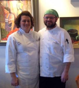 Chefs Nicole Pichan-Seals & David Seals
