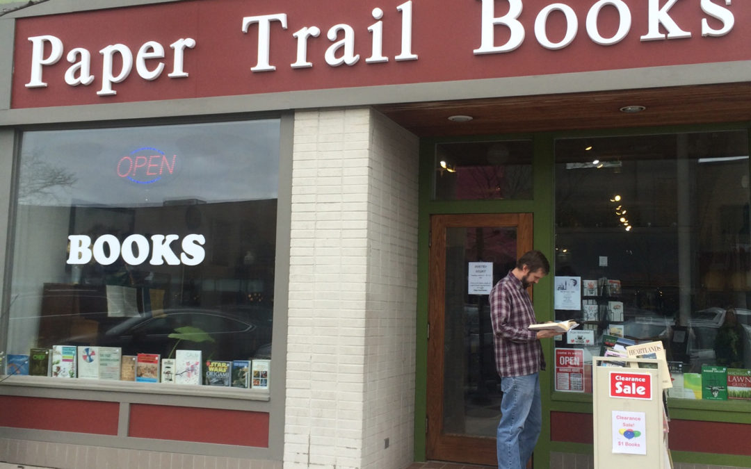 Used Book Store's Unspoken Message: What's Your Hurry?