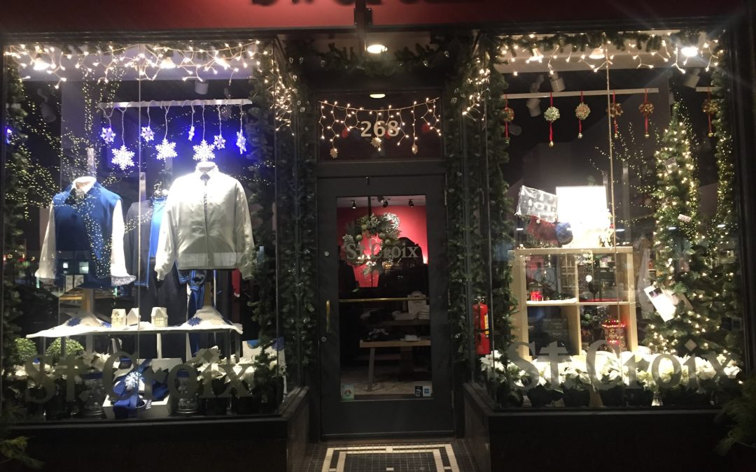 "Birmingham's St. Croix Shop: ""Our Enchanting Windows Change Weekly!"""