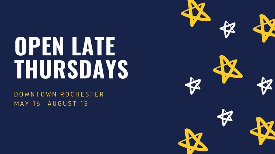 Rochester – July 29, 2019